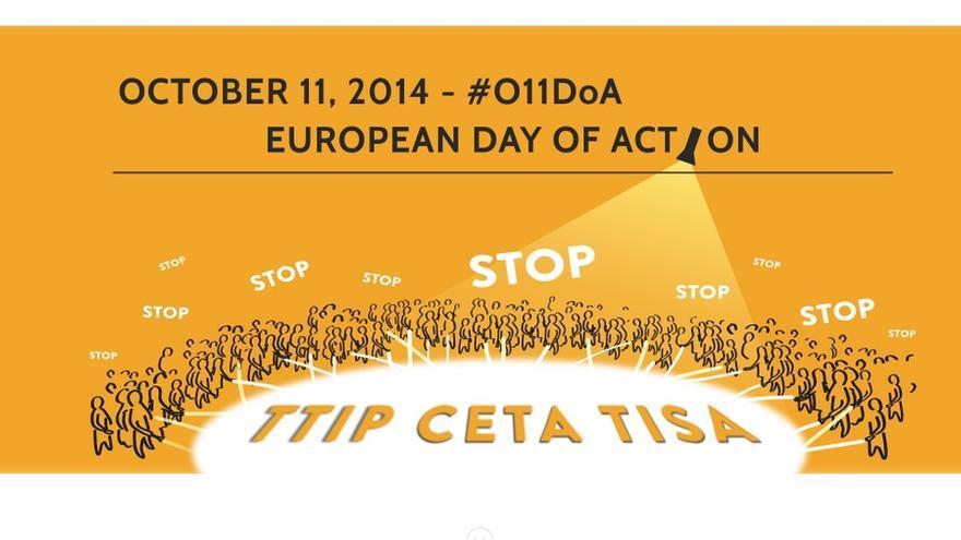 11 de octubre, Día Europeo contra los Tratados de Libre Comercio