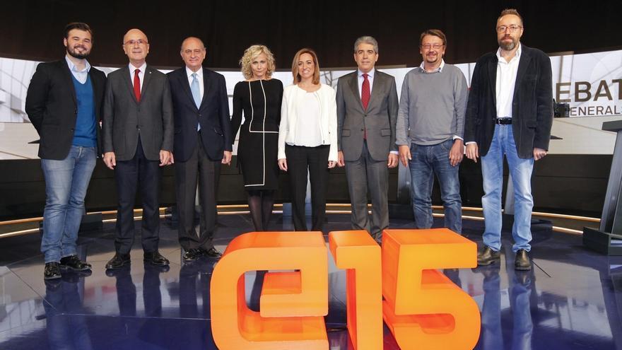 EnComúPodem ganaría en Cataluña seguida de ERC, C's, PSC, DL y PP, según TV3