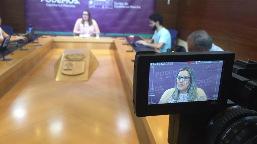 María Díaz hace balance del año legislativo en Castilla-La Mancha