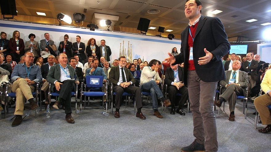 Moreno afirma ante Rajoy que no le quepa duda a nadie de que va a ser el próximo presidente de la Junta
