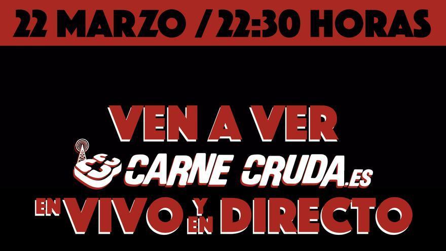 """Carne Cruda, 'En vivo en directo"""""""
