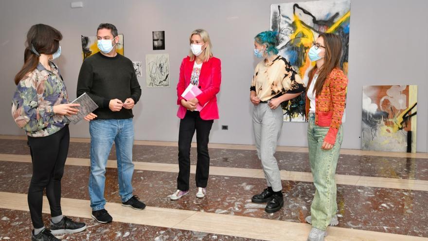 """Inauguración de la exposición """"Boogity shu"""" de los artistas Intza Arakistain y Sara Ayesa en las Juntas de Bizkaia."""