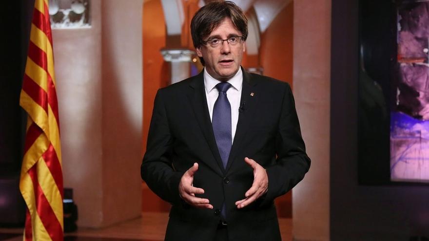"""Puigdemont ve al Estado """"desconectando de sus compromisos y obligaciones"""" con Cataluña"""