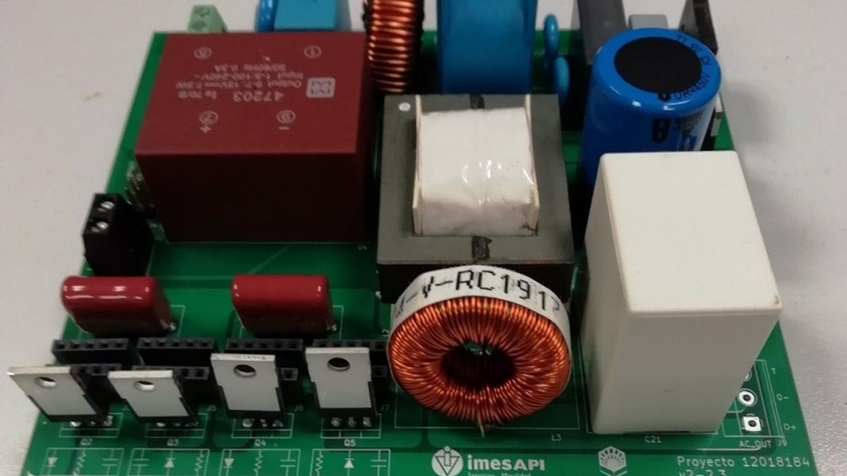Imagen del prototipo desarrollado por el equipo de investigacíón.