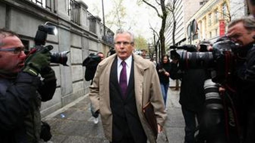 Garzón declara en el Supremo por los cursos en Nueva York