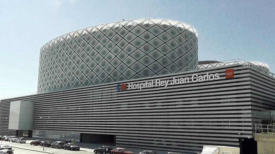 El hospital Rey Juan Carlos de Móstoles (Madrid).