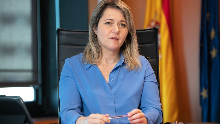 Alicia Vanoostende, consejera de Agricultura del Gobierno de Canarias