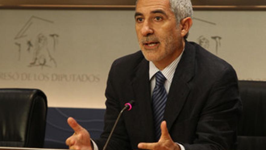 Diputado de IU, Gaspar Llamazares