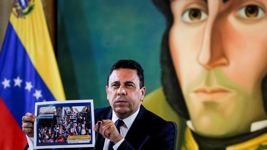 Francia llama al diálogo en Venezuela e insiste en el fin de la violencia