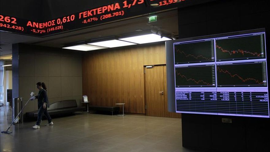 La Bolsa de Atenas abre con fuertes alzas del 7,54 por ciento