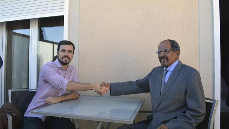 Garzón reitera su compromiso firme con el pueblo saharaui a su máximo responsable
