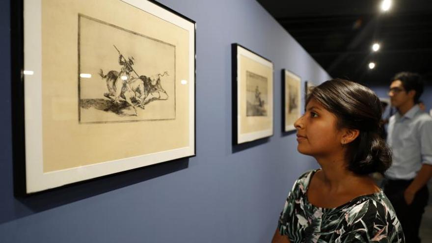 El arte de Goya sobre tauromaquia brilla en pleno debate sobre toros en Perú