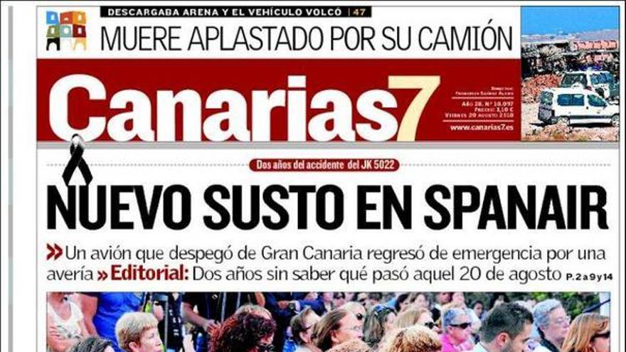 De las portadas del día (20/08/2010) #3