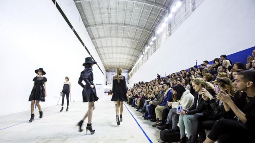 Valencia Fashion Week en el Trinquet Pelayo en 2014