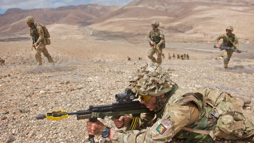 Maniobras militares en Fuerteventura