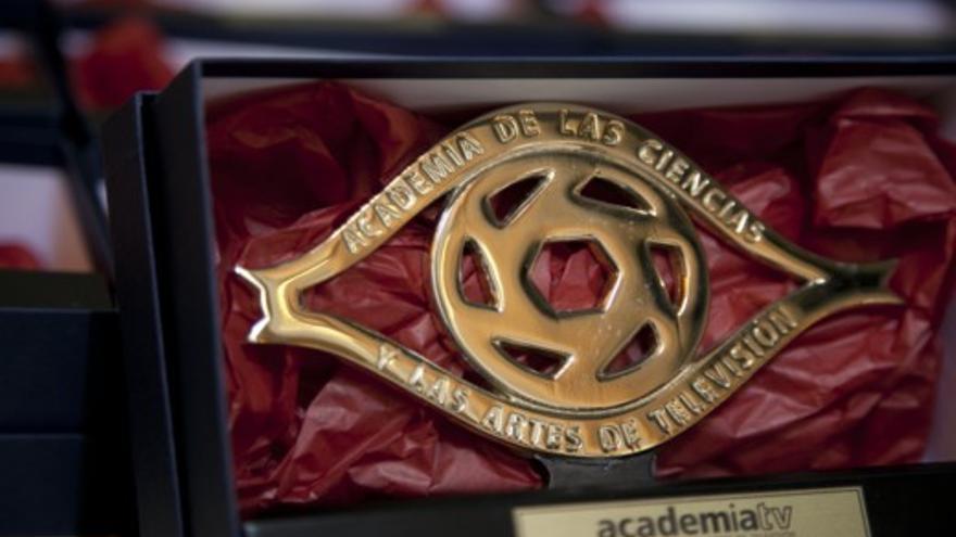Trofeo del Premio Talento de la Academia de Televisión