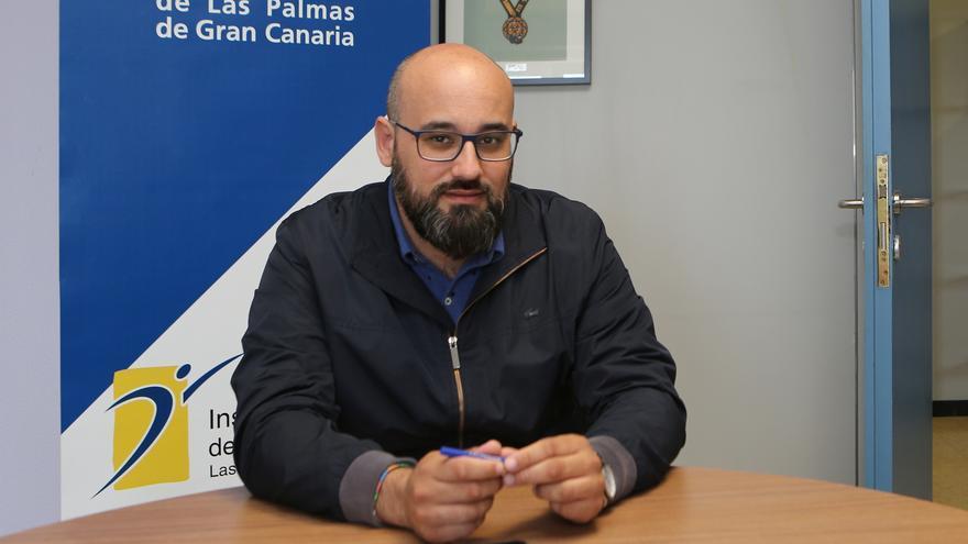 El concejal de Nuevas Tecnologías y Deportes, Aridany Romero.