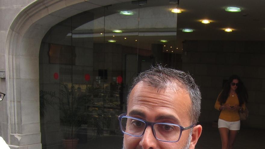 El coordinador de Ciudadanos (Cs) en Canarias, Mariano Cejas
