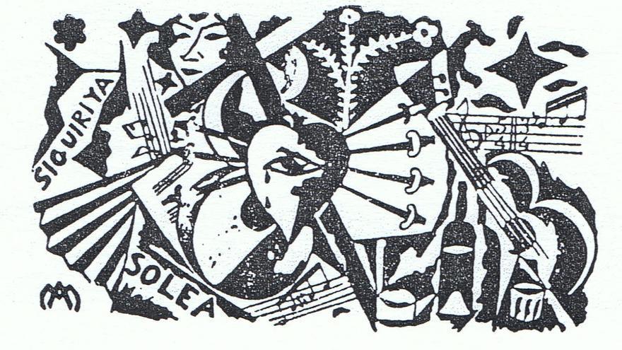 Ilustración de Manuel Ángeles para el Concurso de Cante Jondo