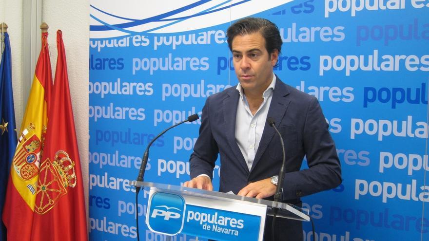 """Pablo Zalba asegura que tras el congreso del PP """"los intereses de la mayoría de los navarros salen fortalecidos"""""""