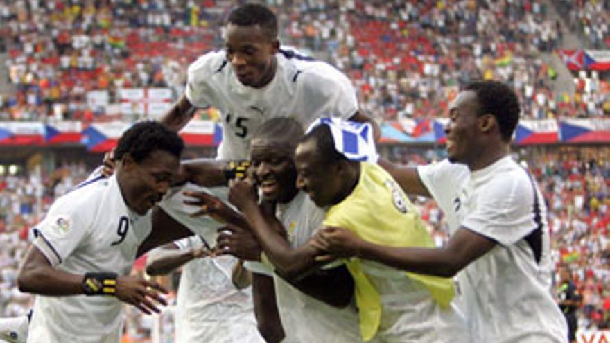 En 2006 Ghana alcanzó los octavos de final.