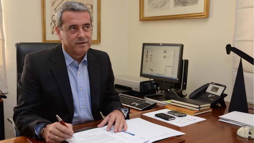 El vicepresidente del Cabildo y consejero en funciones del Área de Bienestar, Sanidad y Dependencia, Aurelio Abreu.