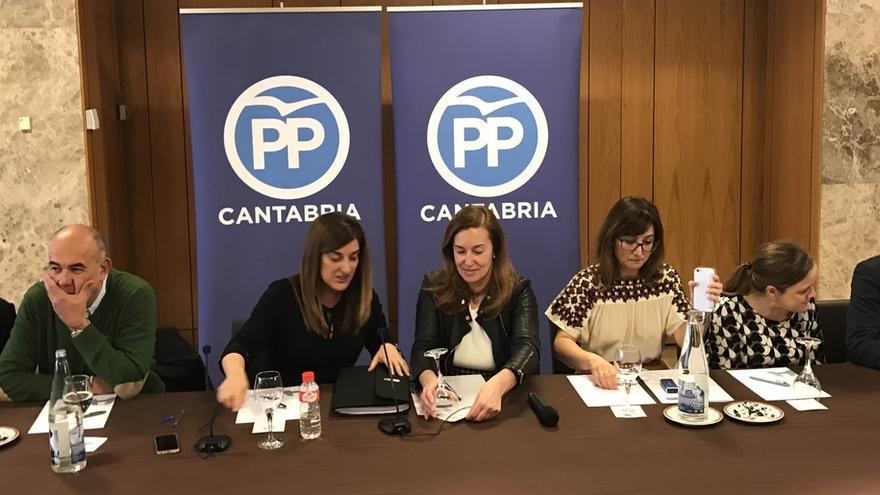 """Sáenz de Buruaga espera que diputados del grupo popular asuman con """"disciplina"""" y no """"rebeldía"""" el relevo en Portavocía"""