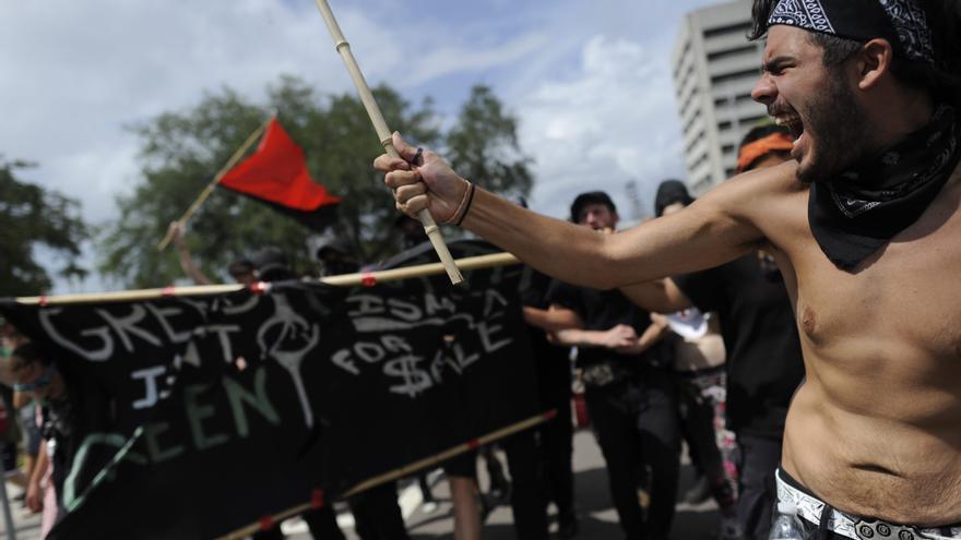 Menos protestas de lo esperado durante la Convención Republicana de Tampa