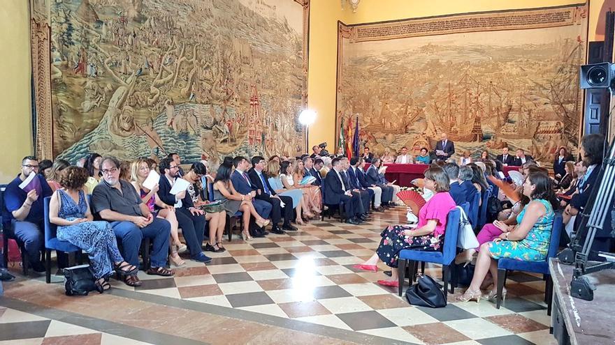 Celebración XXXV aniversario del Parlamento de Andalucía.