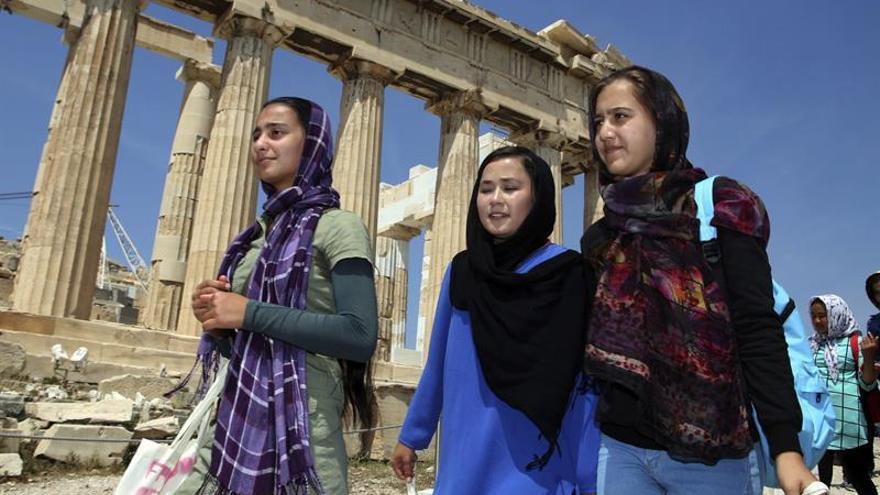 Ir a la escuela, el deseo de miles de niños refugiados en Grecia