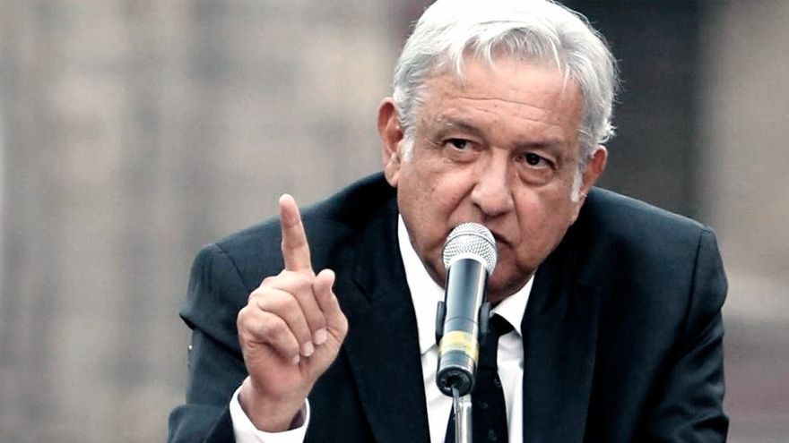 El presidente mexicano López Obrador dio positivo de coronavirus