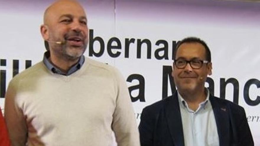 Crespo y García Molina inician una gira para buscar el encaje de candidaturas municipales de confluencia