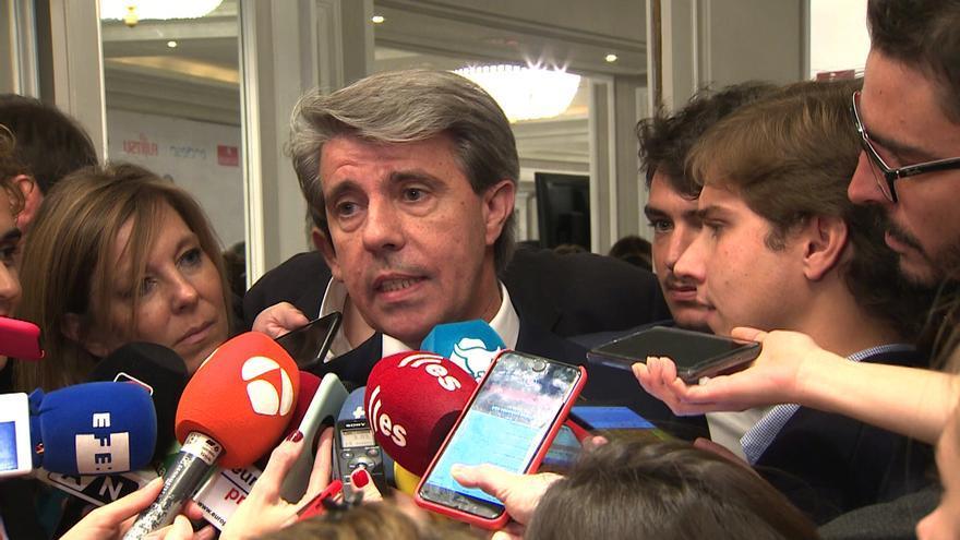 Garrido niega que firmara su aceptación a la lista de las europeas del PP el pasado lunes