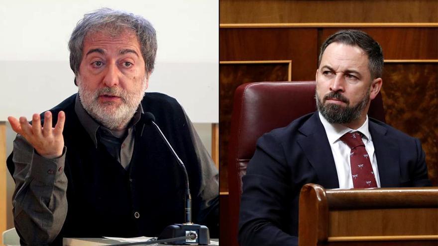 Javier Olivares y Santiago Abascal