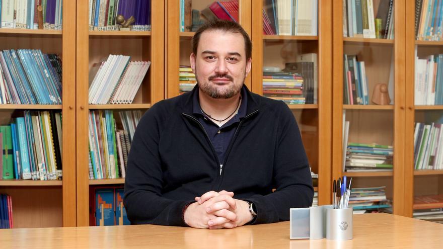 """Sergio de La Fe, nuevo presidente de Confapa: """"Canarias no está preparada para una docencia telemática, hay una brecha social galopante"""""""