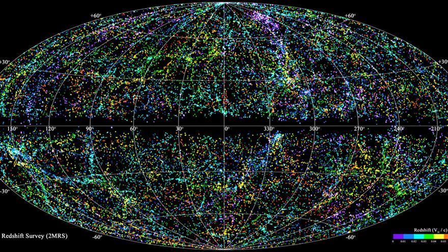 Mapa del universo conocido