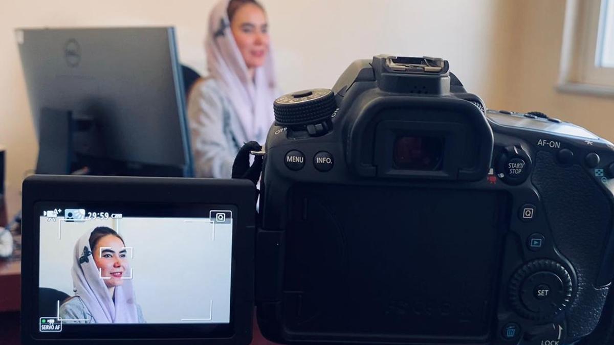 Gulafroz Ebtekar, antigua subjefa de investigaciones criminales de Kabul.