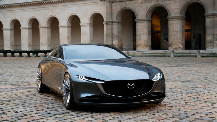 El Mazda Vision Coupe fue presentado al público en el pasado Salón de Tokio.