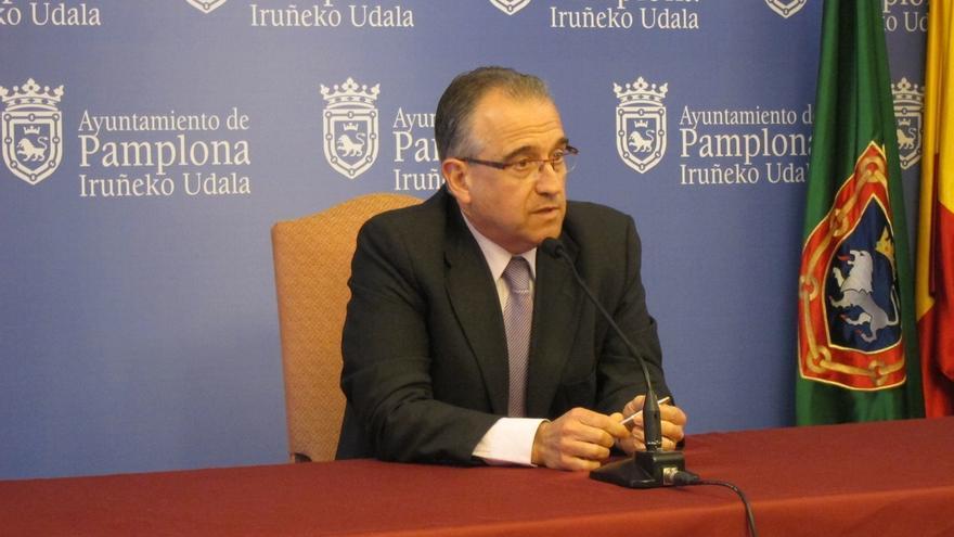 """Enrique Maya, con """"muchísimas"""" ganas de repetir como candidato de UPN en Pamplona en unas elecciones """"muy movidas"""""""