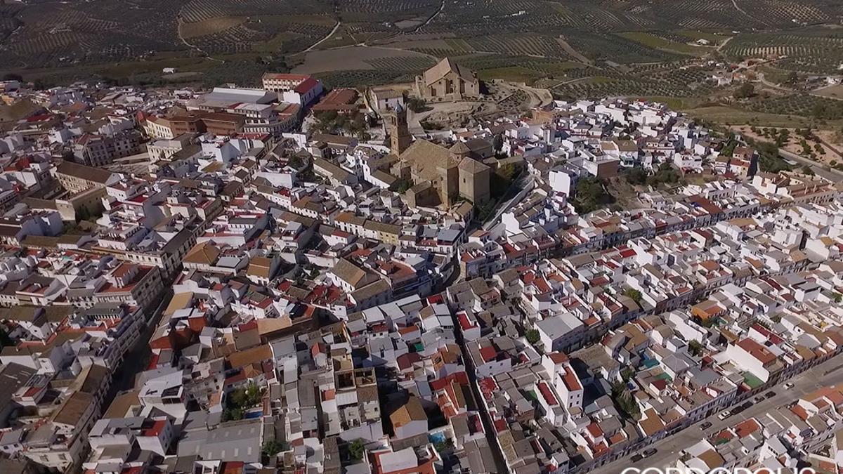 Vista aérea de Montilla