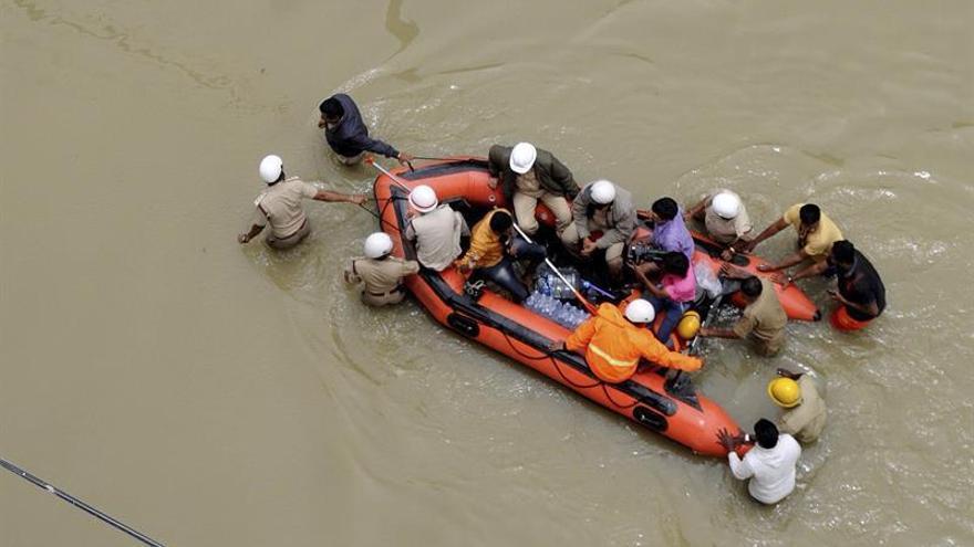 Cerca de 400 muertos y millones de afectados por el monzón en el Sur de Asia