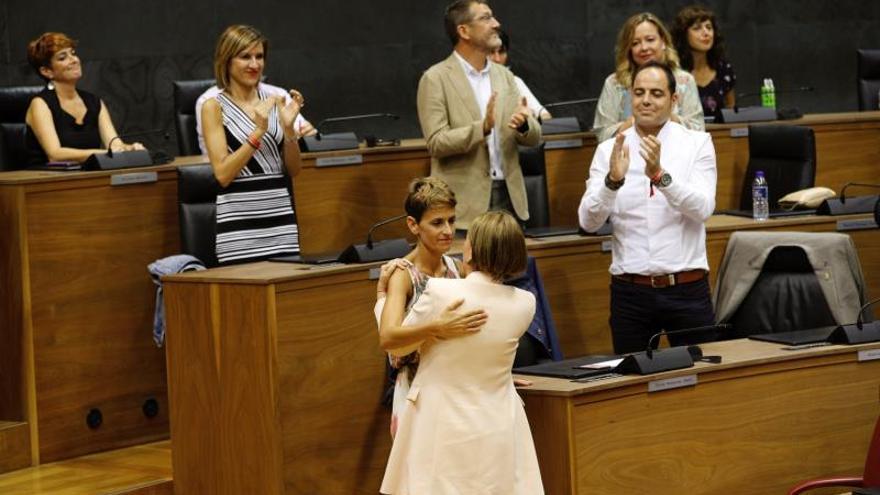 El PSN logra presidir Navarra 23 años después tras un fallido intento en 2007