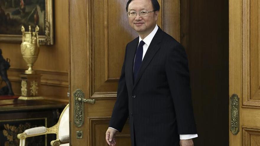 El Rey y el responsable de Exteriores chino tratan perspectivas de cooperación