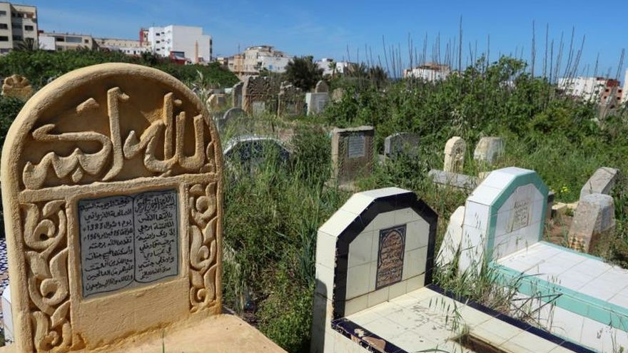 Cementerio de los Mártires en Rabat, Marruecos, este viernes.