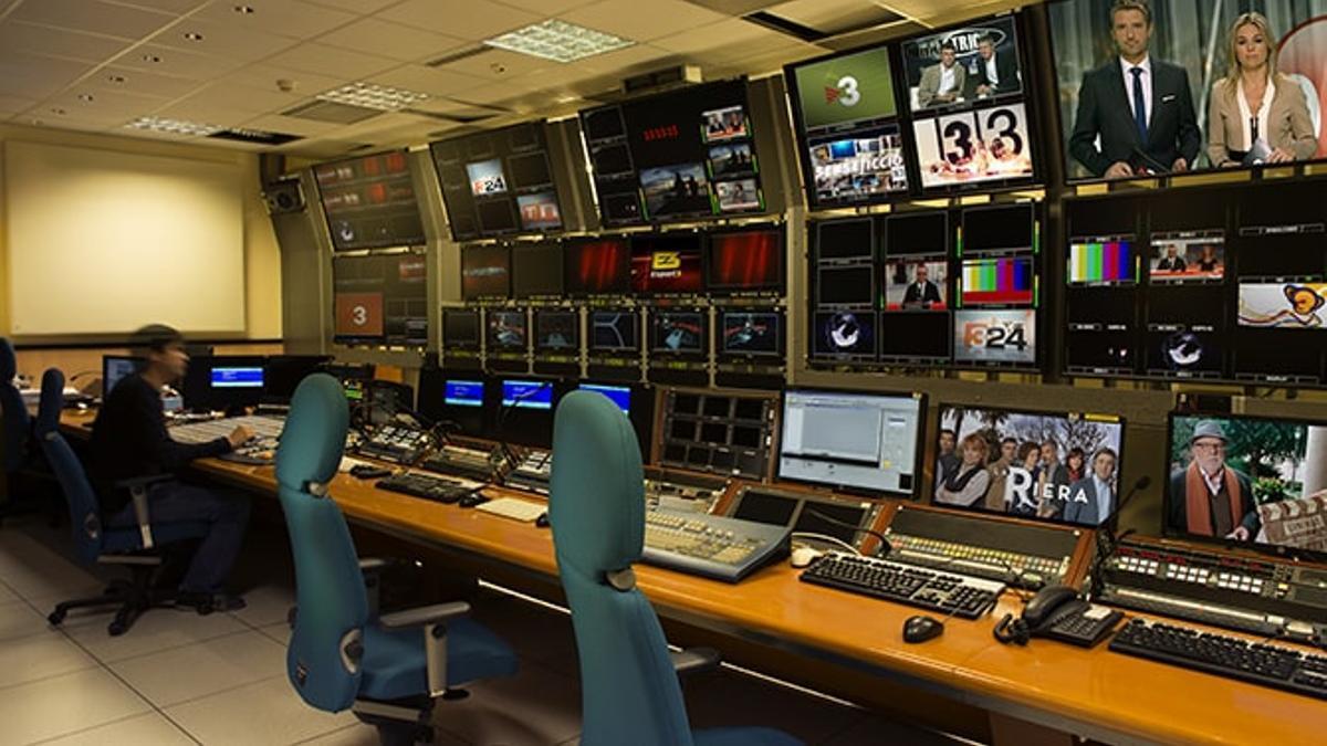 Control de realización de TV3