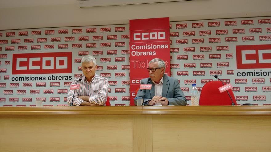 José Luis Gil, Ignacio Toxo de Comisiones Obreras
