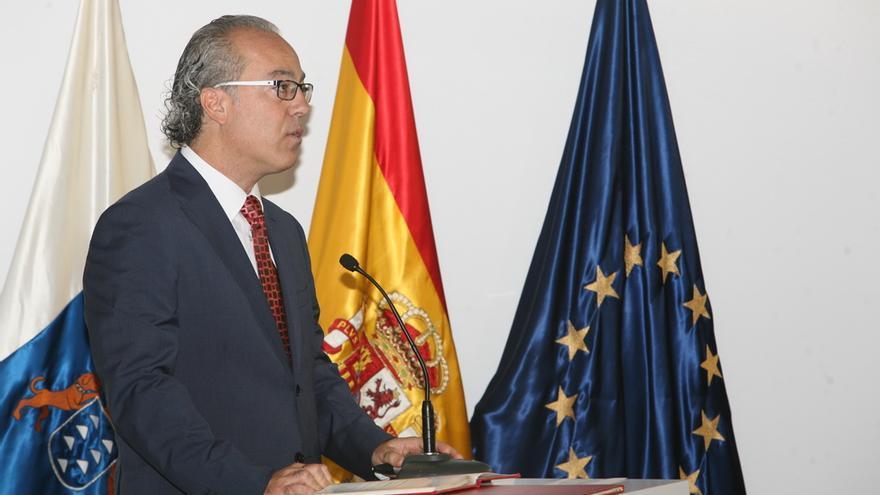 Jesús Morera Molina, consejero de Sanidad (PSOE). (ALEJANDRO RAMOS)