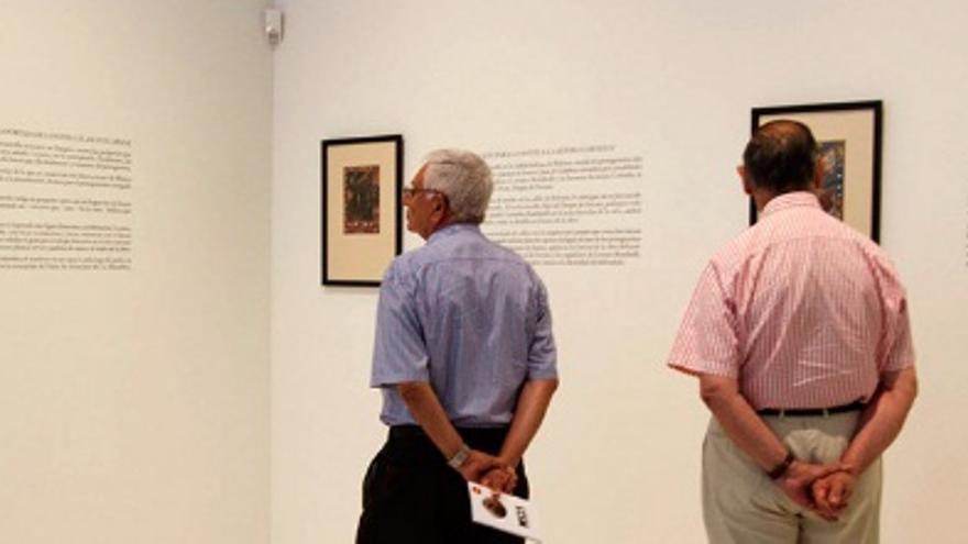Las obras han estado expuestas en el Museo de Bellas Artes de Badajoz