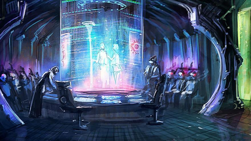 Resultado de imagen de Escenas futuristas