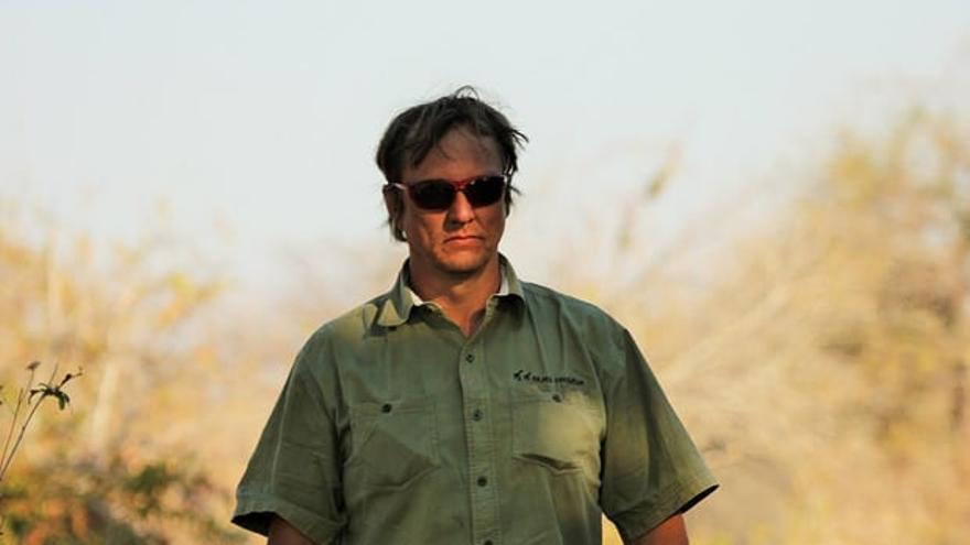 Wayne Lotter, asesinado por defender a los elefantes en África. Foto: Krissie Clark/PAMS Foundation